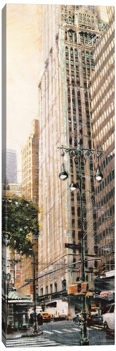 The Woolworth Building Canvas Art Print