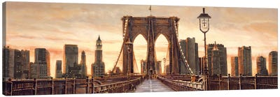 Manhattan Evening Canvas Art Print