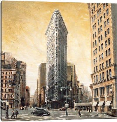 The Flatiron Building Canvas Art Print