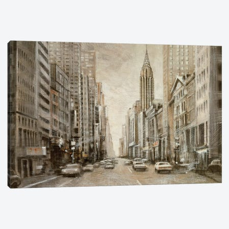 To the Chrysler Building 3-Piece Canvas #MDA7} by Matthew Daniels Canvas Art