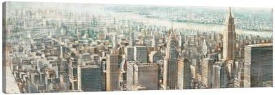 City View of Manhattan Canvas Art Print