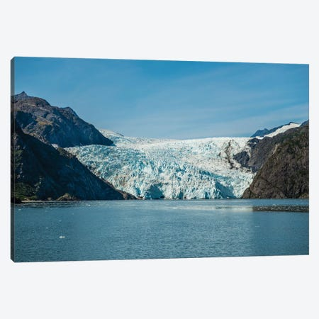 Holgate Glacier, Harding Icefield, Kenai Fjords National Park, Alaska, USA. Canvas Print #MDE20} by Michael DeFreitas Canvas Wall Art
