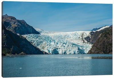 Holgate Glacier, Harding Icefield, Kenai Fjords National Park, Alaska, USA. Canvas Art Print