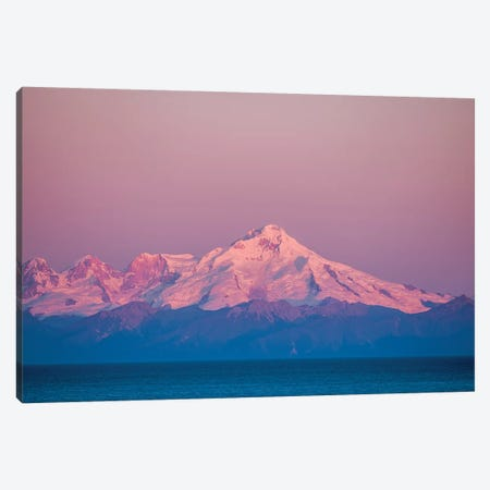 Mount Redoubt, Lake Clark National Park and Preserve, Alaska, USA. 3-Piece Canvas #MDE23} by Michael DeFreitas Canvas Art