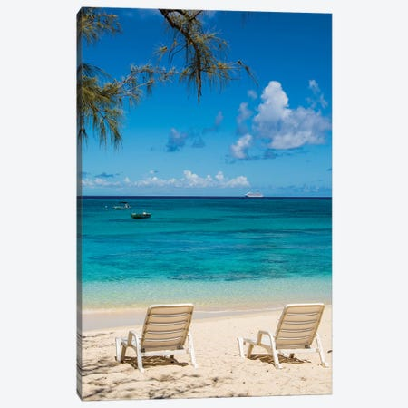 Governor'S Beach, Grand Turk Island, Turks And Caicos Islands, Caribbean. Canvas Print #MDE29} by Michael DeFreitas Canvas Wall Art
