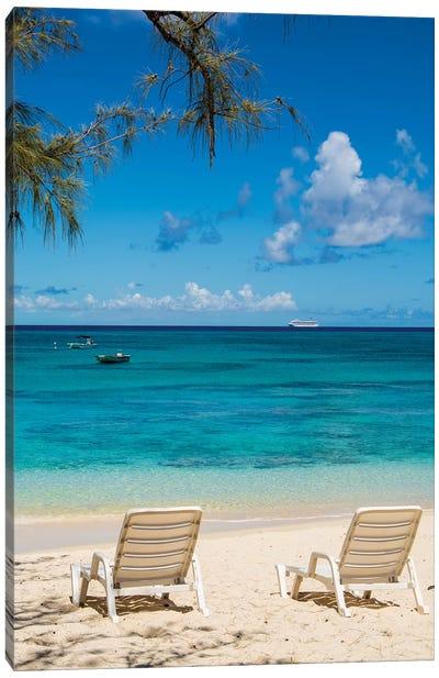 Governor'S Beach, Grand Turk Island, Turks And Caicos Islands, Caribbean. Canvas Art Print
