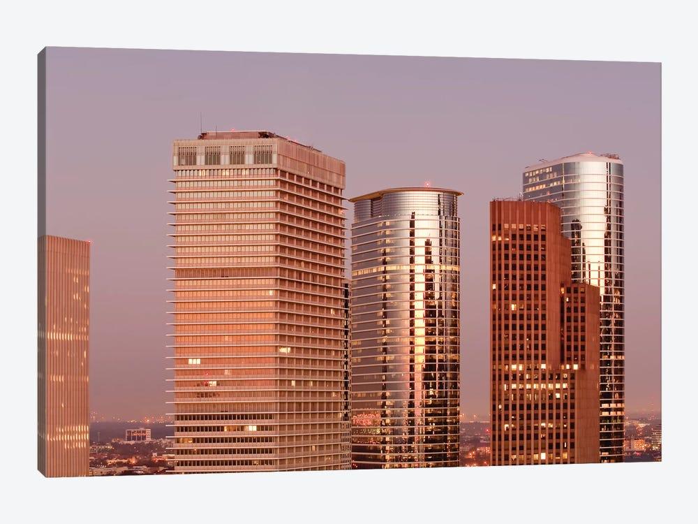 Texas, Houston. Downtown Skyline. by Michael DeFreitas 1-piece Art Print