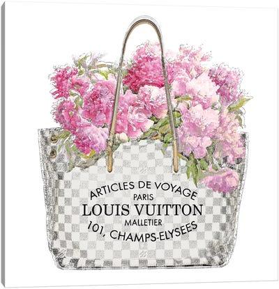 Pink Bouquet Canvas Art Print