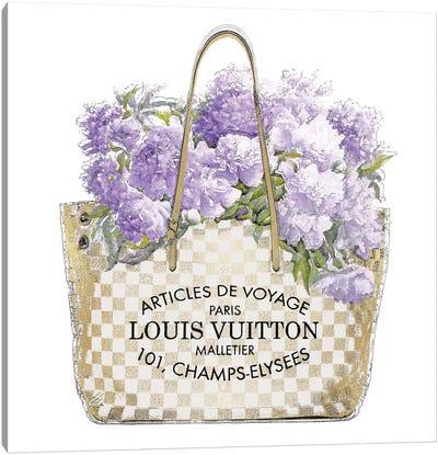 Lavender Bouquet Canvas Art Print