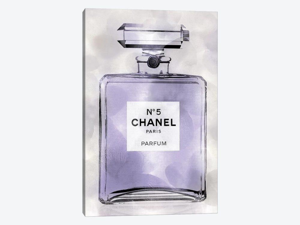 Purple Perfume Bottle by Madeline Blake 1-piece Canvas Art