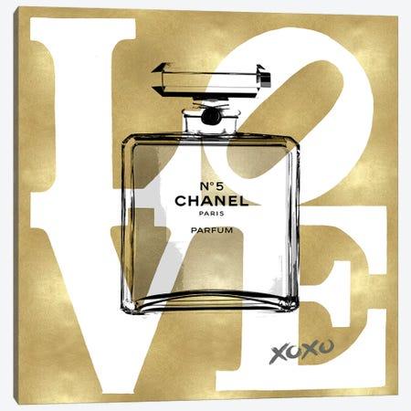 Love Perfume Canvas Print #MDL60} by Madeline Blake Canvas Print