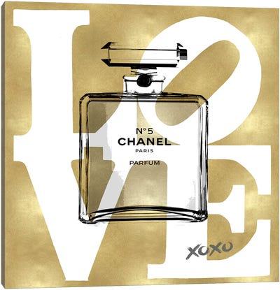 Love Perfume Canvas Art Print