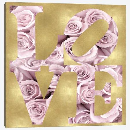 Floral Love Canvas Print #MDL61} by Madeline Blake Art Print