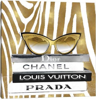 Designer Sunglasses I Canvas Art Print