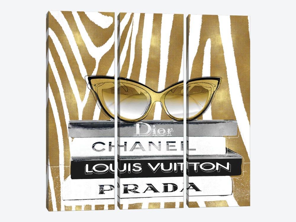 Designer Sunglasses I by Madeline Blake 3-piece Canvas Print