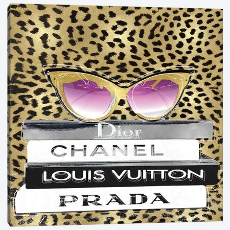 Designer Sunglasses II Canvas Print #MDL67} by Madeline Blake Canvas Art