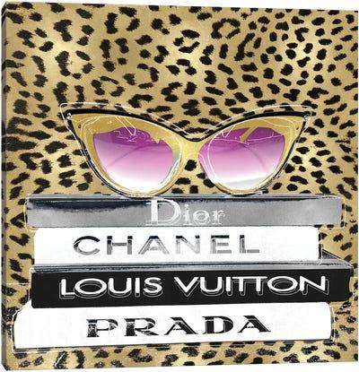 Designer Sunglasses II Canvas Art Print