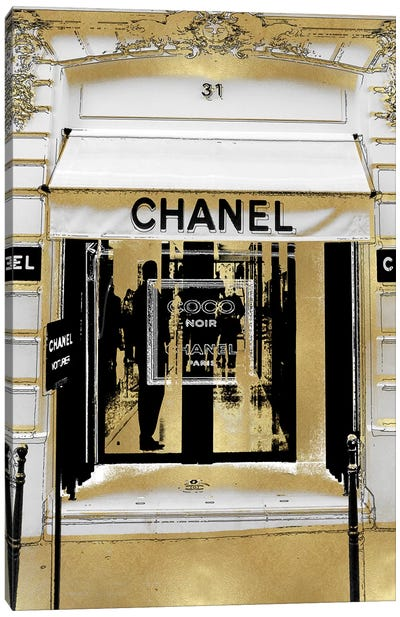 Designer Entrance I Canvas Art Print