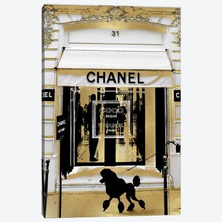 A Paris Stroll I Canvas Print #MDL76} by Madeline Blake Art Print