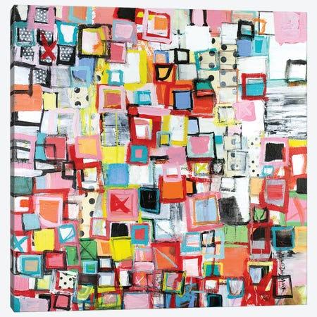 Connected Canvas Print #MDM10} by Michelle Daisley Moffitt Canvas Print