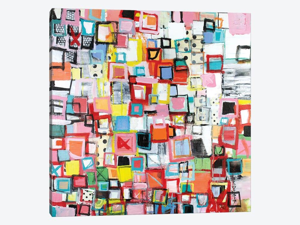 Connected by Michelle Daisley Moffitt 1-piece Canvas Art Print