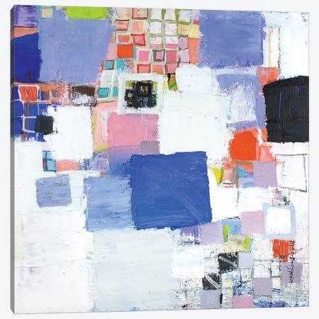 Deep Blue Canvas Print #MDM13} by Michelle Daisley Moffitt Canvas Art Print