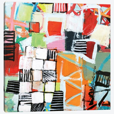Have Your Say Canvas Print #MDM16} by Michelle Daisley Moffitt Canvas Artwork