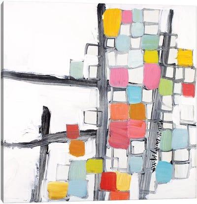 Abbreviated Canvas Art Print
