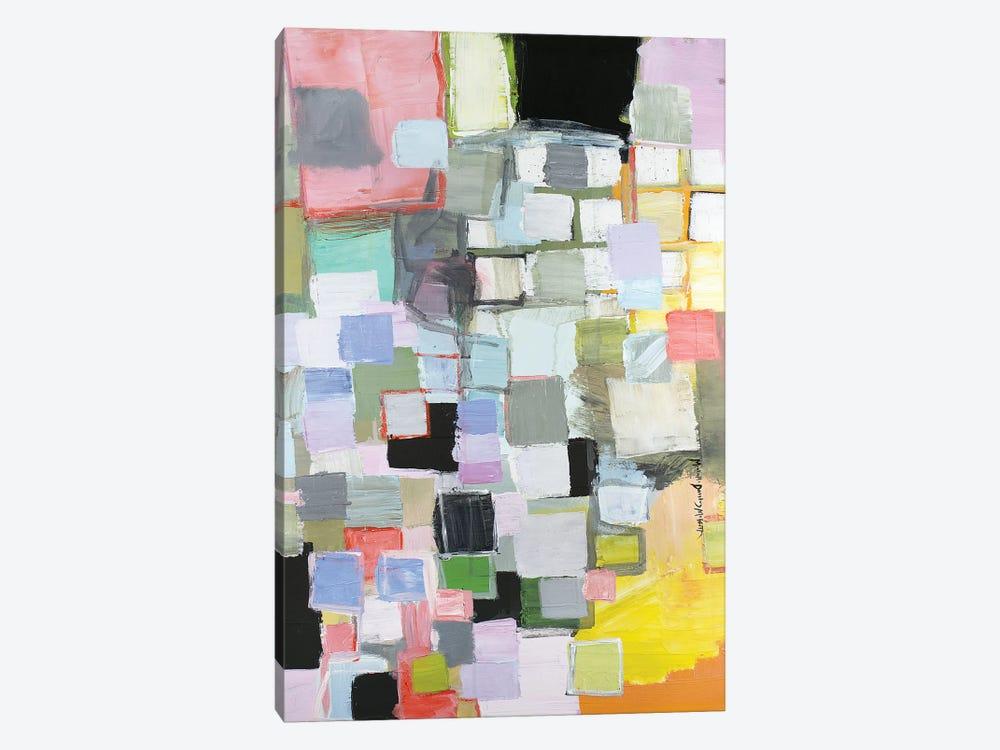 Off Center by Michelle Daisley Moffitt 1-piece Canvas Wall Art