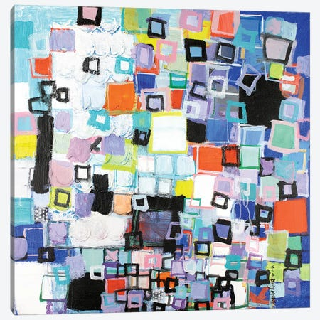Out of the Blue Canvas Print #MDM27} by Michelle Daisley Moffitt Canvas Art Print