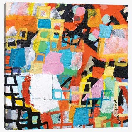 Power Through I Canvas Print #MDM34} by Michelle Daisley Moffitt Canvas Artwork