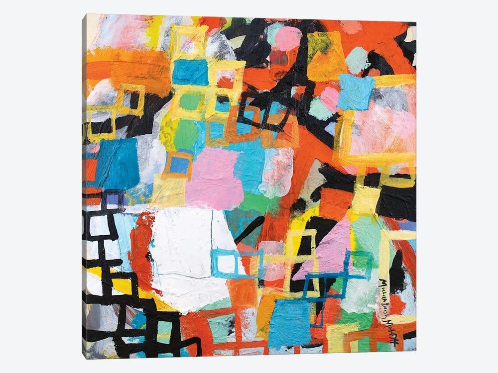 Power Through I by Michelle Daisley Moffitt 1-piece Canvas Art Print
