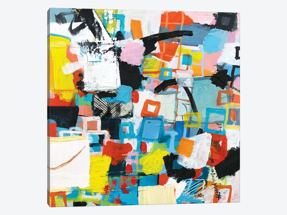 Power Through II by Michelle Daisley Moffitt 1-piece Canvas Wall Art