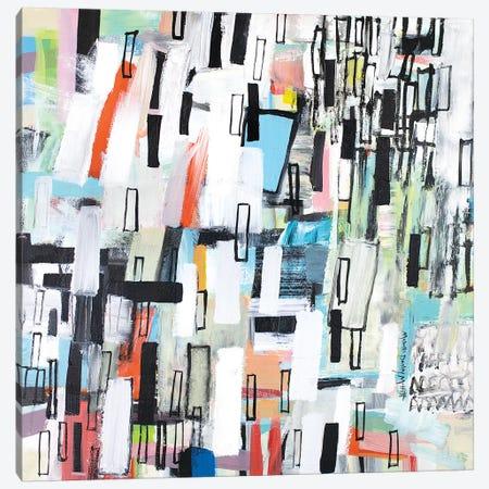 Rainfall Canvas Print #MDM37} by Michelle Daisley Moffitt Canvas Wall Art