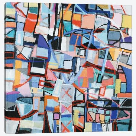 Restless Canvas Print #MDM39} by Michelle Daisley Moffitt Canvas Art Print