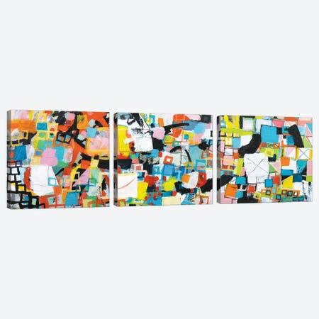 Power Through Triptych Canvas Print Set #MDM3HSET001} by Michelle Daisley Moffitt Canvas Art Print
