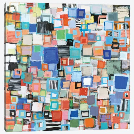 Stacked Canvas Print #MDM42} by Michelle Daisley Moffitt Canvas Artwork