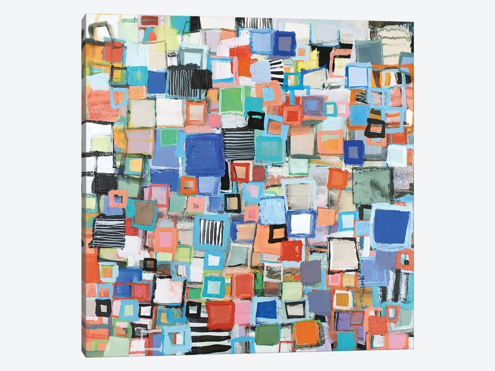 Stacked by Michelle Daisley Moffitt 1-piece Canvas Wall Art