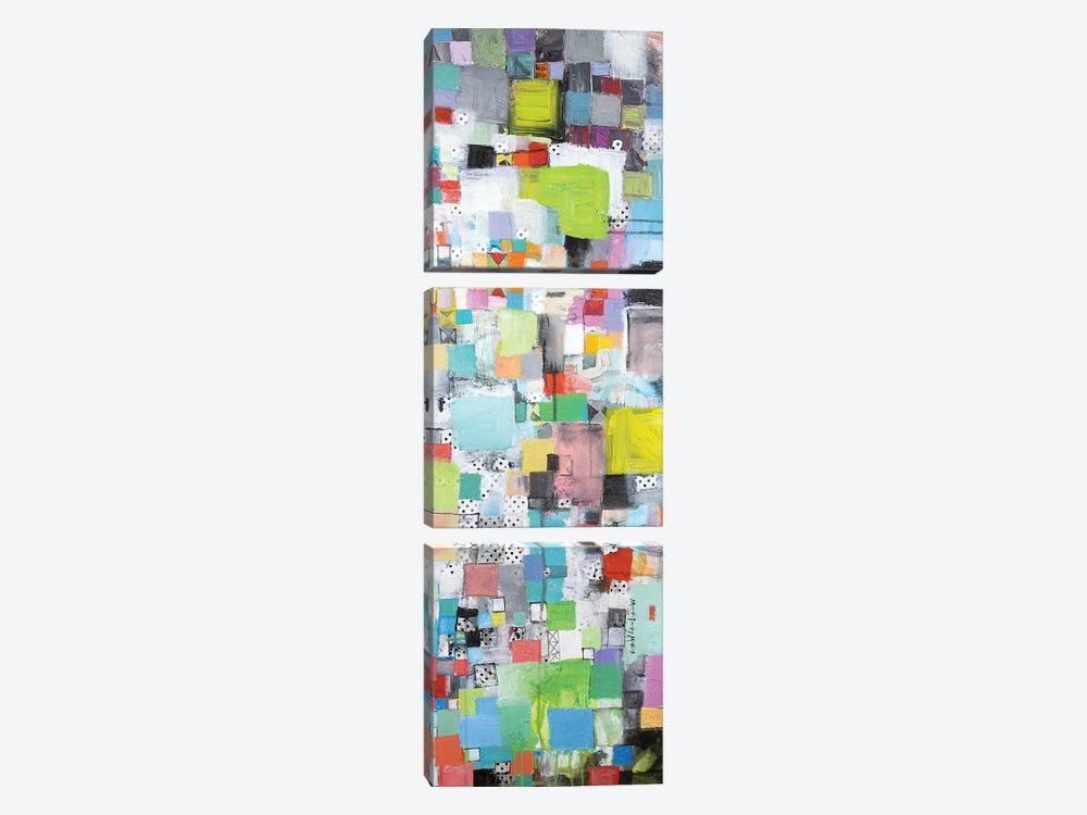 Stockpiled by Michelle Daisley Moffitt 3-piece Canvas Print