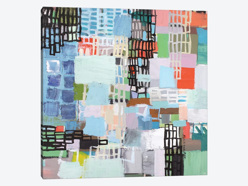 With the Other by Michelle Daisley Moffitt 1-piece Canvas Print