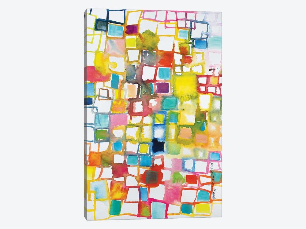 Color Block by Michelle Daisley Moffitt 1-piece Art Print