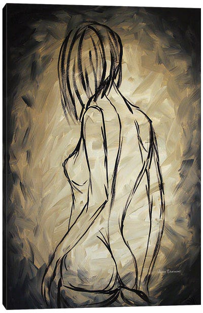 Sensuous Canvas Art Print