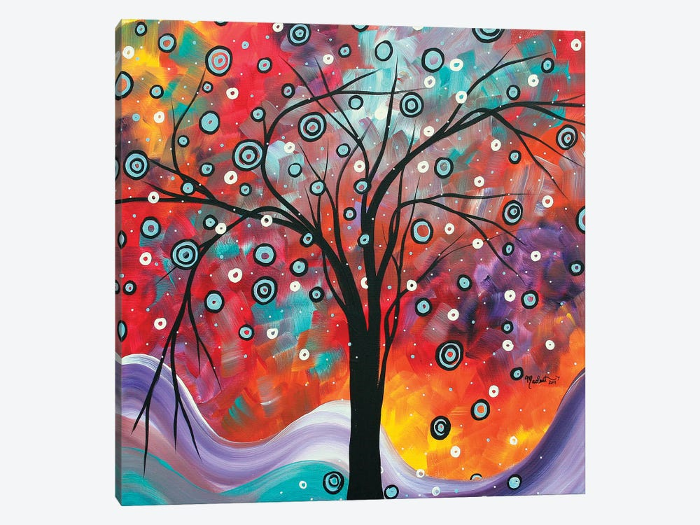 Snow Fall by Megan Duncanson 1-piece Canvas Art Print
