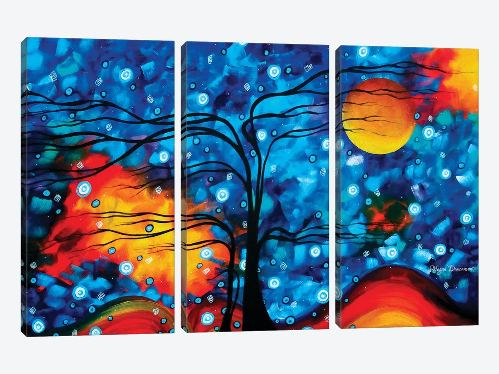 Chidlhood Memories by Megan Duncanson 3-piece Canvas Art Print