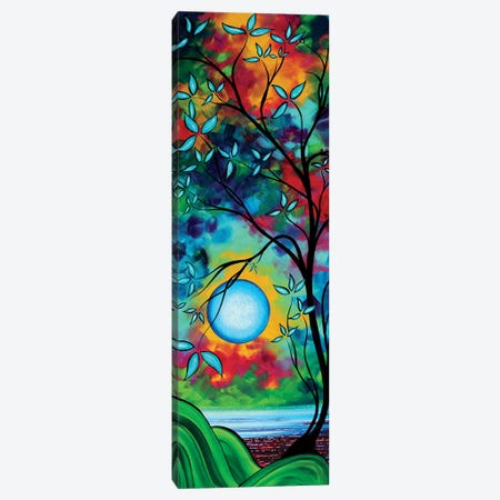 Under The Light Of The Blue Moon I Canvas Print #MDN112} by Megan Duncanson Canvas Art