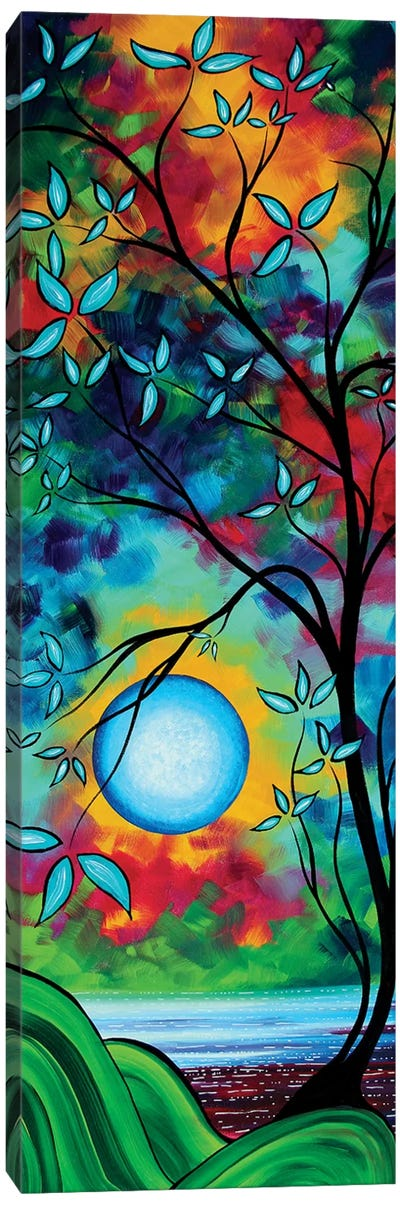 Under The Light Of The Blue Moon I Canvas Art Print