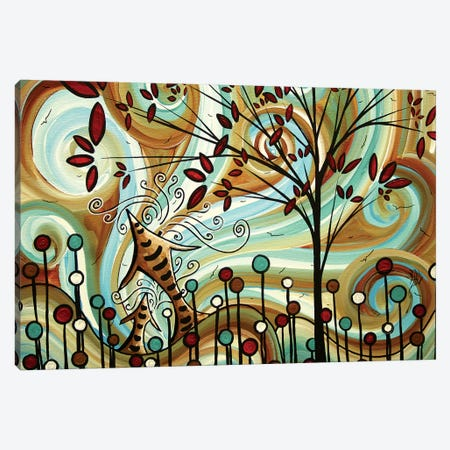 Venturing Out Canvas Print #MDN115} by Megan Duncanson Canvas Art Print