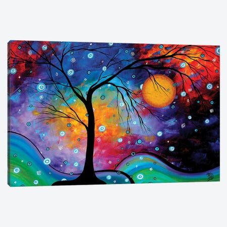Winter Sparkle Canvas Print #MDN118} by Megan Duncanson Canvas Artwork