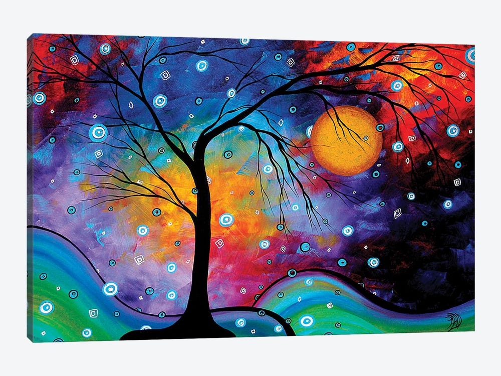 Winter Sparkle by Megan Duncanson 1-piece Canvas Art