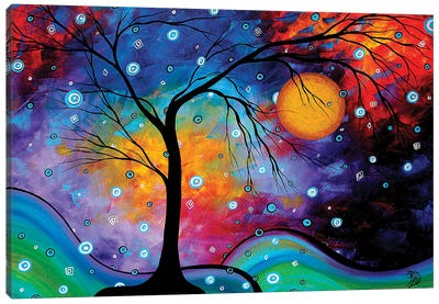 Winter Sparkle Canvas Art Print
